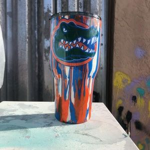 Florida gators 30oz stainless steel tumbler